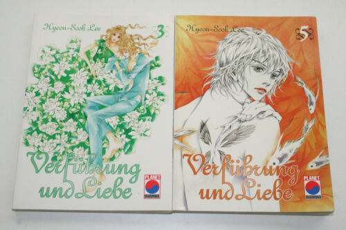 Auswahl aus Bd MANGA: VERFÜHRUNG UND LIEBE 3 5 PANINI NEUWERTIG /& UNGELESEN