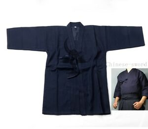 Cotton-Kendo-Aikido-Hapkido-Gi-Martial-Arts-Uniforms-Laido-Kimono-Tops-3-color