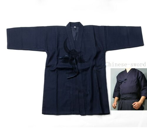 Cotton Kendo Aikido Hapkido Gi Martial Arts Uniforms  Laido Kimono Tops 3 color