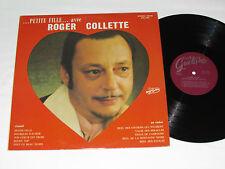 ROGER COLLETTE ...Petite Fille...Avec....Chante LP Trans-Canada Guitare Quebec