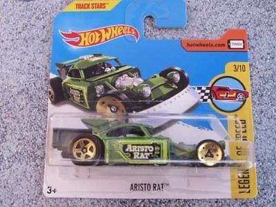 Hot Wheels Aristo Rat Green Legends of Speed 133//365 2017