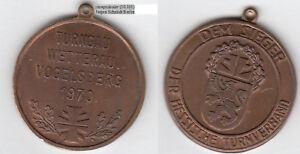 (63691 Ranstadt) Turngau Wetterau Vogelsberg Medaille 1970 Ca. 20,34 G Weitere Rabatte üBerraschungen