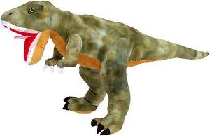 PLUSCHTIER-PLUSCH-DINOSAURIER-TYRANNOSAURUS-81-cm-NEU-Dino-T-Rex-Plueschdino