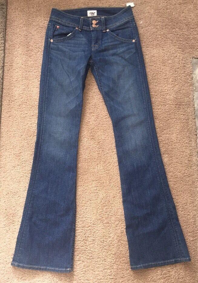 NWT Hudson Jeans Signature Bootcut Midrise- Dean- Size 25-