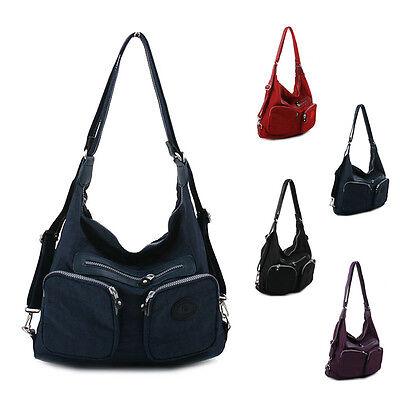 New Women Handbag Ladies Messenger Shoulder Bag Tote Hobo Satchel Purse Backpack