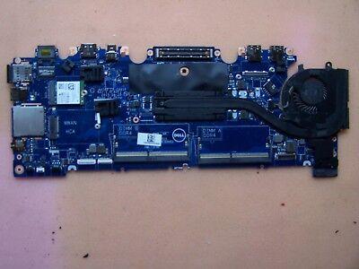 Genuine Dell Latitude E7470 Laptop Motherboard i5-6300U 2.4GHz LA-C461P DGYY5