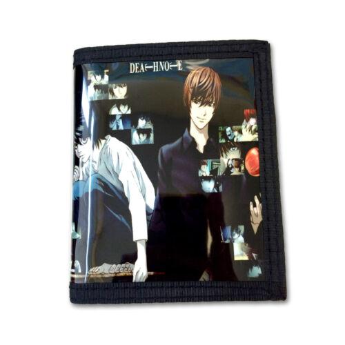 DEN-B2C Light /& L Death Note PU Leather Wallet