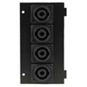 NEW-Floor-Wall-Cable-Wire-Connection-Steel-Stage-Panel-Plate-4-Speakon