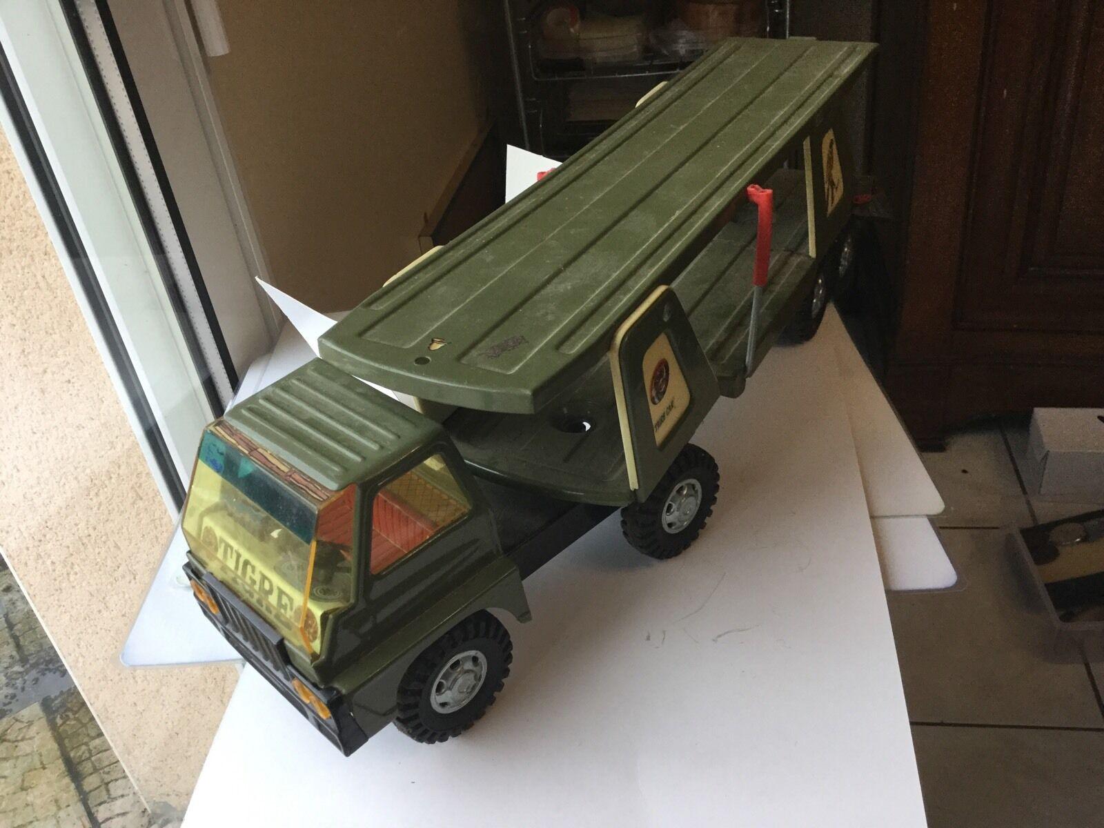TIGER CAR ,ref 316 Godan Juguette ,jouet Militaire