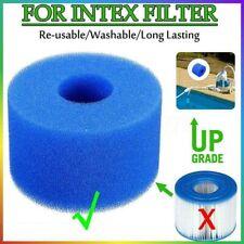 2Pcs For Intex Pure Spa Reusable//Washable Foam Hot Tub Filter Cartridge S1 Type
