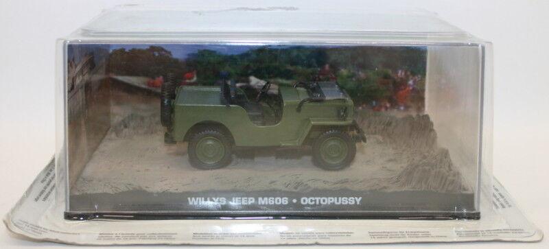 Fabbri Fabbri Fabbri 1 43 Scale Diecast - Willys Jeep M606 - Octopussy 33e168
