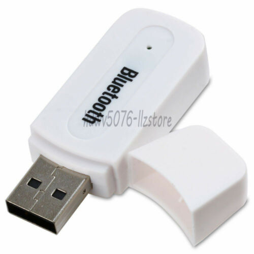 Wireless USB Bluetooth Receiver  Adapter Car AUX 3.5mm Music Audio Speaker New
