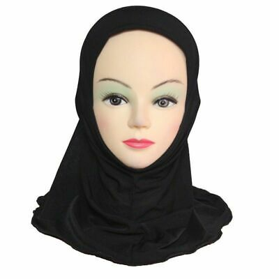MUSLIM SCHOOL KIDS GIRLS HIJAB ISLAMIC HEADSCARF KIDS CHILDREN HIJAB ONE PIECE