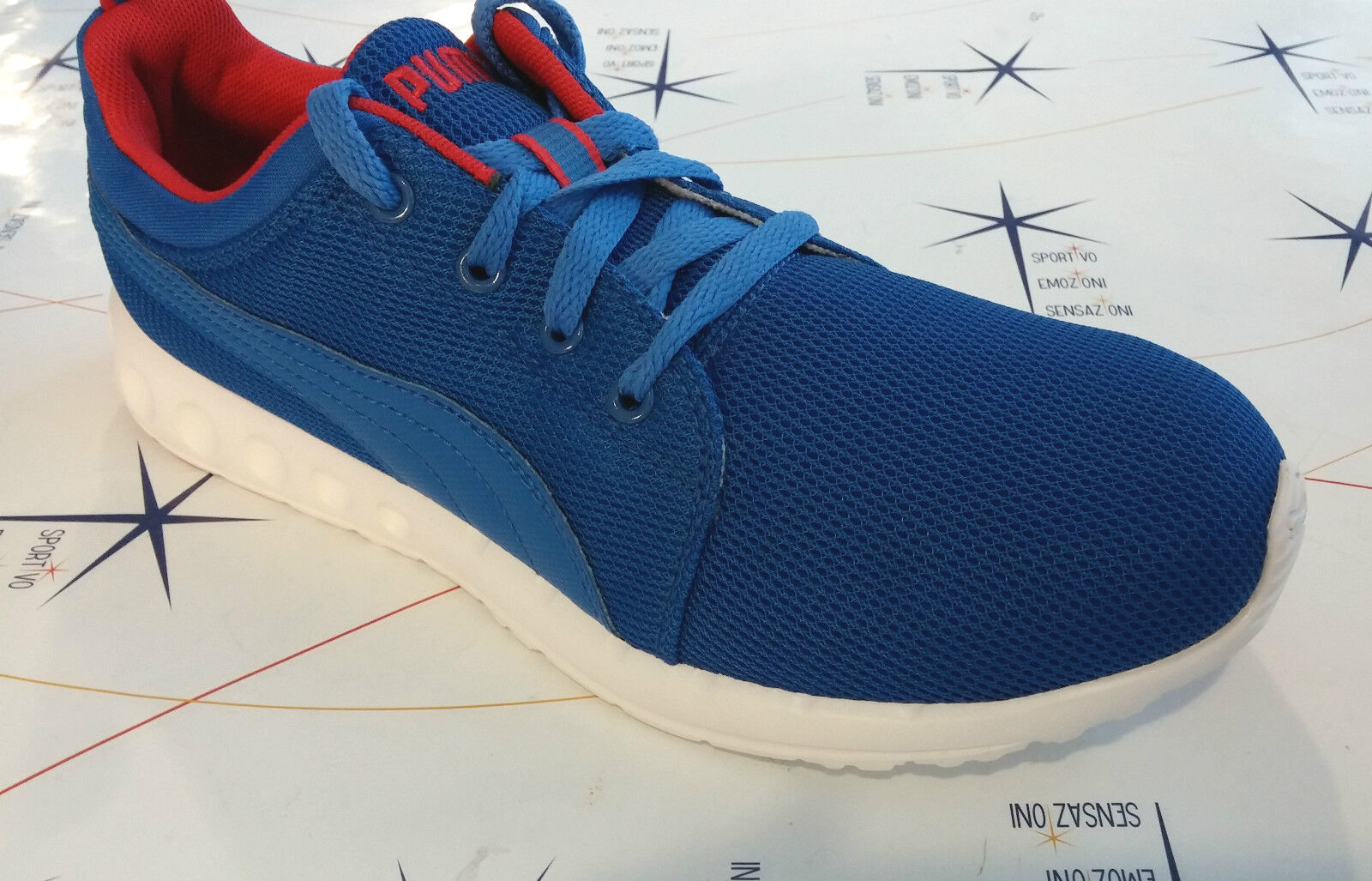 shoes Puma -- color Royal red Carson Runner -- 357482