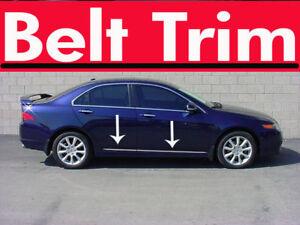 For-TSX-CHROME-SIDE-BELT-TRIM-DOOR-MOLDING-2004-2005-2006-2007-2008