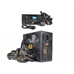 A-Power-AK-800W-20-4-pin-ATX-Black-Power-Supply-w-SATA-amp-PCIe-amp-120mm-Fan