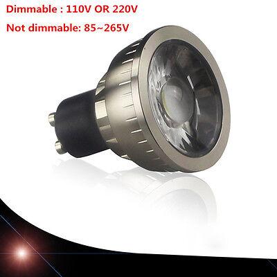 GU10 9/12/15W 120° LED Spotlight Cabinet Bull Eye Lamp Showcase Light CN
