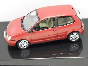 Murano Rot ~ Autoart 59767 standmodell vw polo 2001 muranorot perleffekt
