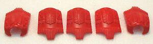5-x-pettorale-rosso-Playmobil-PER-INDIANI-BARBARI-CAVALIERE-ASIA-accessori