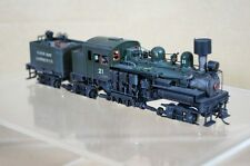 PFM UNITED SCALE MODELS JAPANESE BRASS 3 TRUCK SHAY COOS BAY LUMBER LOCO pq