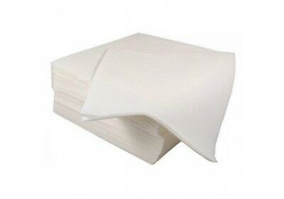 100 x Cafe 3 Ply Paper Napkins 24cm x 24cm Party Serviettes Tableware Catering