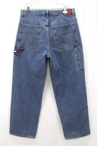 vintage 90s mens medium wash TOMMY HILFIGER jeans
