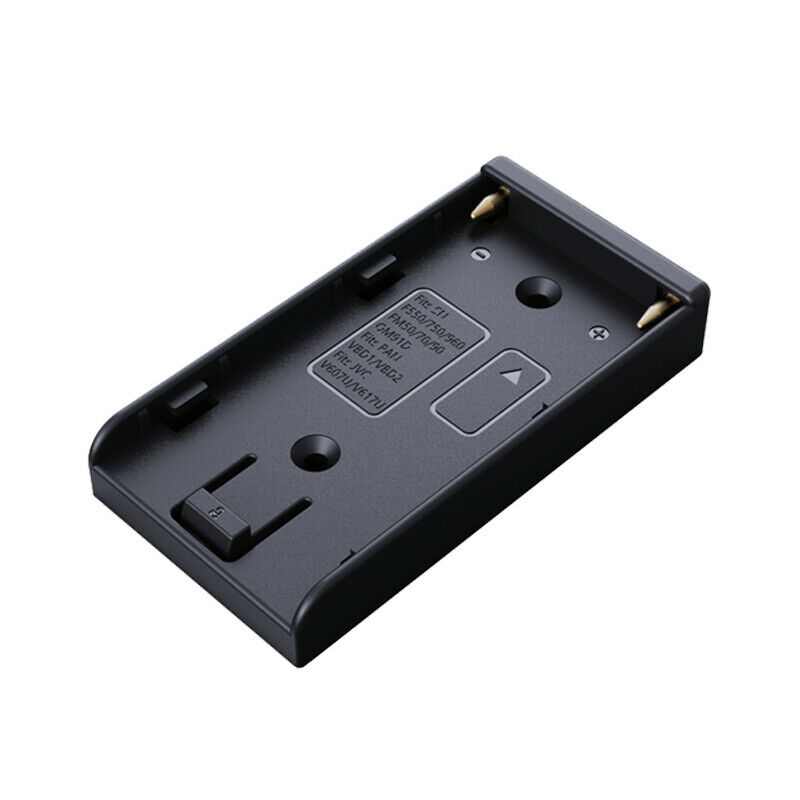 NP-F970 F550 Battery Plate fr DIY Camera Rig Dolly Power Supply Timelapse Slider