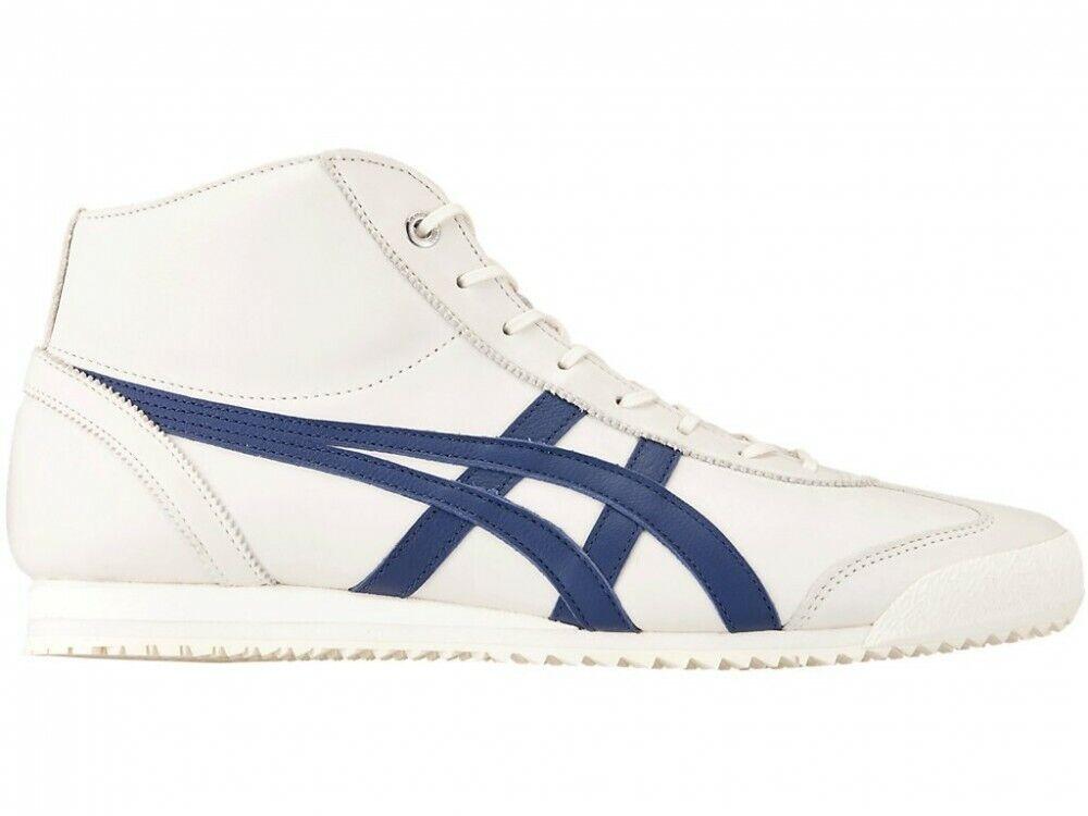 Asics Onitsuka Tiger Mexico 66 SD M. 1183A591 Crème × bleu indigo avec chaussures sac