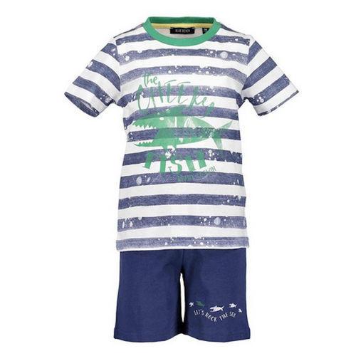 tenue t-shirt short 827018x Set Bleu Enfants Combi nouveau Blue Seven Jeunes 2tlg