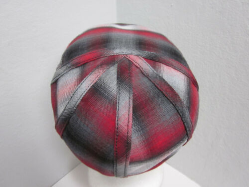 New Medium Christys/' Crown Series Plaid Driving 100/% Cotton Panel Cap