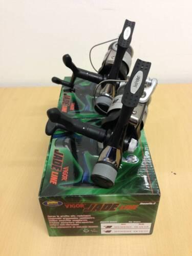 2 nouvelles lineaeffe vigor Jade 40 grossiers filature les moulinets de pêche avec ligne grise 040