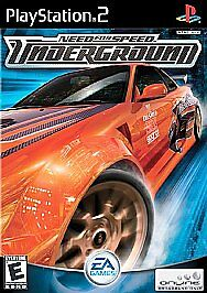 Need-For-Speed-Underground-1-Sony-Playstation-2-ps2-BLACK-LABEL