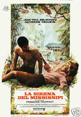 La sirene du Mississippi Catherine Deneuve movie poster