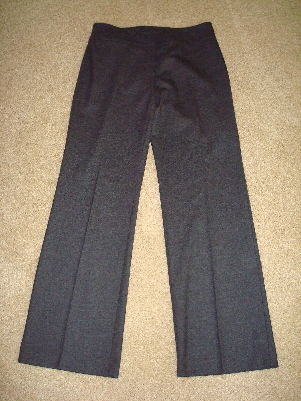 NWT Eileen Fisher Trouser with Yoke Pants Stretch Flannel Twill    - 8