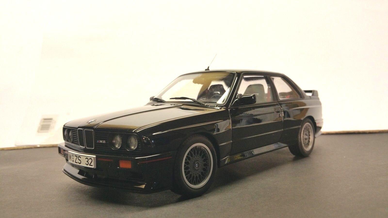 1/18 AUTO art-BMW M3 Sport Evolution Evolution Evolution e30-NERO-Nuovo di zecca 6ead5d