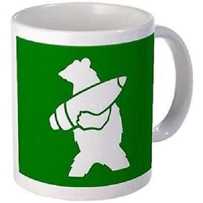 11oz mug Wojtek the Soldier Bear Printed Ceramic Coffee Tea Cup Gift