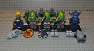 Lego-Figuren-und-Teile-Konvolut-Atlantis-atl017-atl003-atl004-atl012-atl005-etc