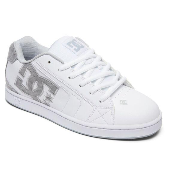 Dc Shoes Skate Net se Bianco - - Grigio Chiaro 302297 Wwl Uomo Numeri UK 7 5ddf792d3f7
