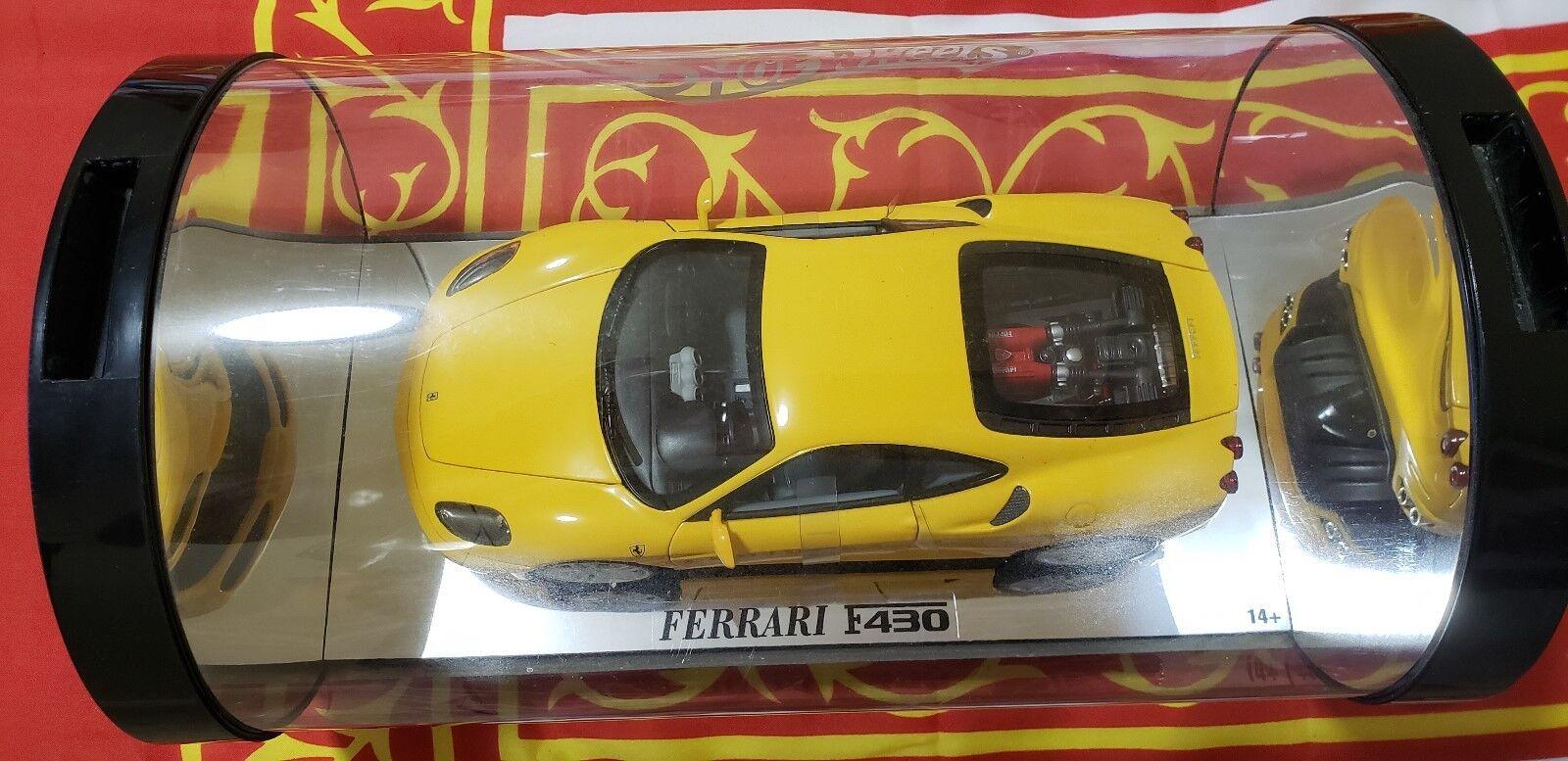 Ferrari New F430 2004 Coupé Mattel Hot Wheels showcase edition échelle 1 18 dans
