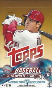 2018-Topps-Update-Baseball-Complete-Your-Set-Pick-25-Cards-From-List-U-Pick-Lot