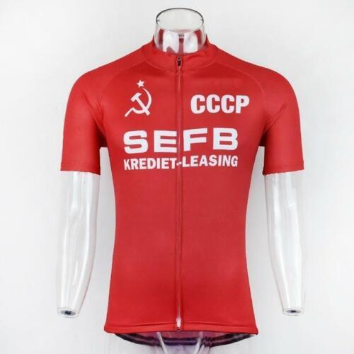 SEFB CCCP Retro Cycling Jersey
