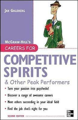 Careers for Competitive Spirits & Other Peak Performers (Careers For Series) by