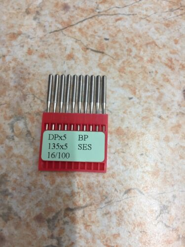 10 INDUSTRIAL SEWING MACHINE NEEDLES DPX5 135X5 16//100