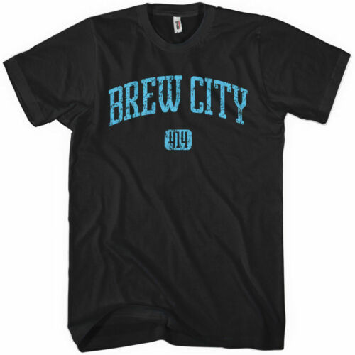 BREW CITY T-shirt Milwaukee XS-4XL Area Code 414