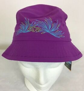 Outdoor-Research-Kids-Solstice-Bucket-Sun-Hat-UPF-50-Size-M-NWT-Ultraviolet
