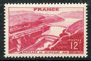 STAMP-TIMBRE-FRANCE-NEUF-N-817-BARRAGE-DE-GENISSIAT