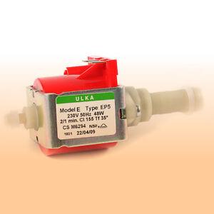 3 x Wasserpumpe Pumpe Ulka EP 5 EP5 für DeLonghi ESAM EAM Saeco Philips NEU !!!