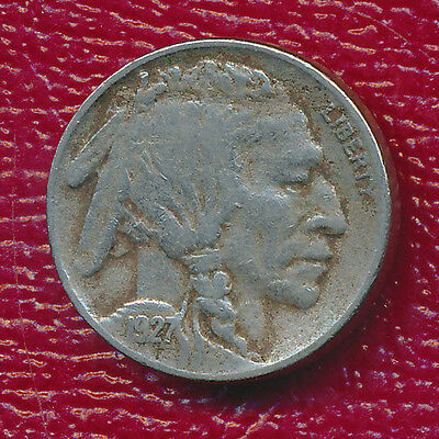 1927-D Buffalo Nickel G VG FREE SHIPPING