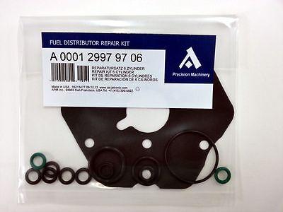 Repair (Rebuild) kit for 6 CYL  Bosch Fuel Distributor Mercedes W124 W126 W201