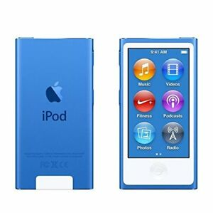 NEW-Apple-iPod-nano-7th-Generation-Blue-16-GB-BUNDLES-WARRANTY